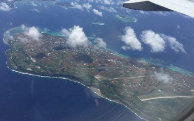 飛行機からの光景