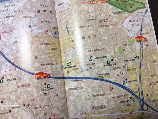災害時に便利な地図