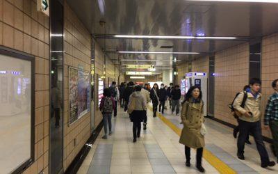 東京メトロ半蔵門線 錦糸町駅 改札外通路