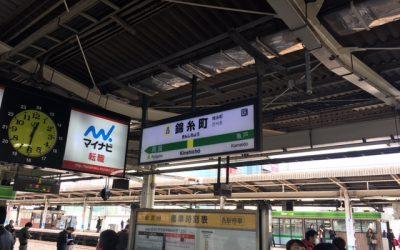 JR総武線・総武中央線 錦糸町駅 ホーム