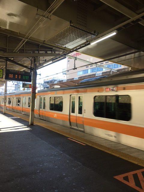 中央線 西国分寺駅 ホーム