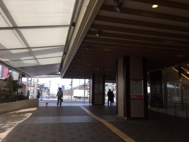 大江戸線までの道のり