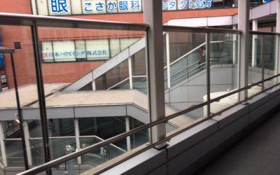 西日暮里駅 陸橋