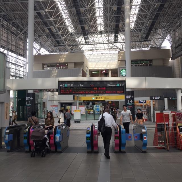 たまプラーザ駅 改札