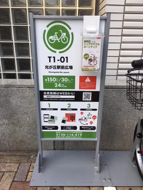 シェアサイクル パンフレット