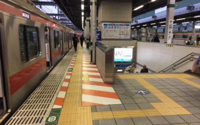 西武池袋線・有楽町線 練馬駅ホーム階段