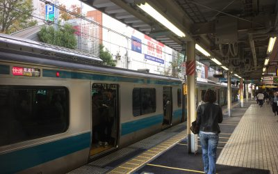 京浜東北線「大井町駅」ホーム