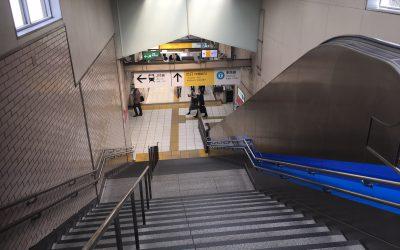 ←JR線 ↑出口 東西線