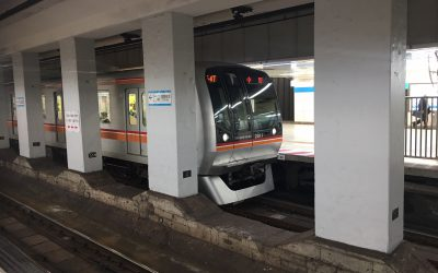 東西線「高田馬場駅」ホーム