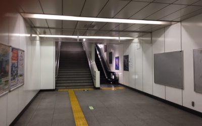 つくばエクスプレス線(TX)浅草駅 エスカレーター