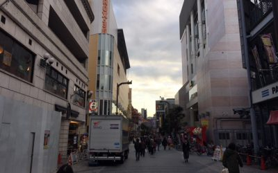 浅草駅の街並み