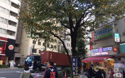 浅草駅前 江戸通り