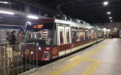 東急世田谷線「下高井戸駅」ホーム