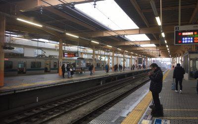 小田急江ノ島線「大和」駅ホーム