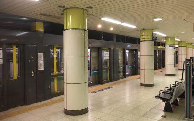 南北線「駒込駅」ホーム