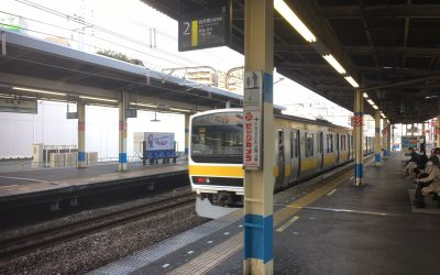 総武線「船橋駅」ホーム
